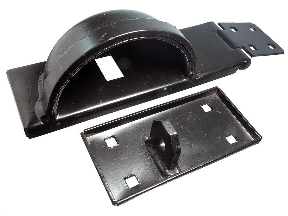 2 Set Hasp & Staple H/D + Vorhängeschloss Schutz Sicherheitsriegel Rh Rechts