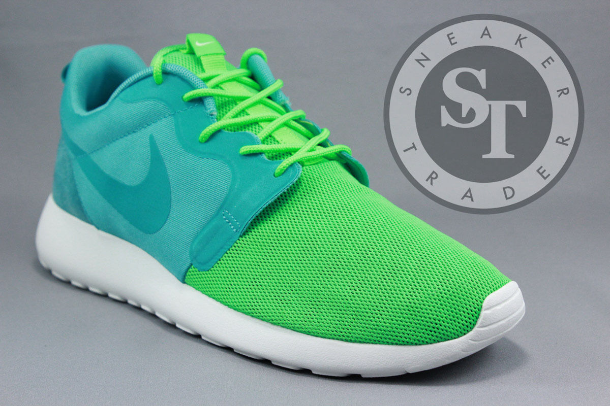 NIKE ROSHEcourir HYP QS 616325-331 SPORT TURQUOISE POISON GREEN blanc Taille: 10