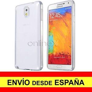 Brillant Funda Silicona Para Samsung Galaxy Note 3 Carcasa Transparente Tpu A2090 Riche Et Magnifique
