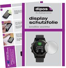 6x Garmin Fenix 5 Schutzfolie klar Displayschutzfolie Folie dipos Displayfolie