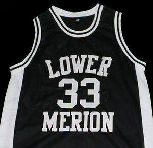 54f719ce94b KOBE BRYANT LOWER MERION HIGH SCHOOL JERSEY Black NEW SEWN ANY SIZE ...