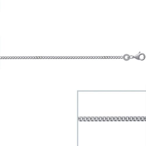 CHAINE Bracelet Maille GOURMETTE Argent Neuf LARGEUR /& LONGUEUR au CHOIX
