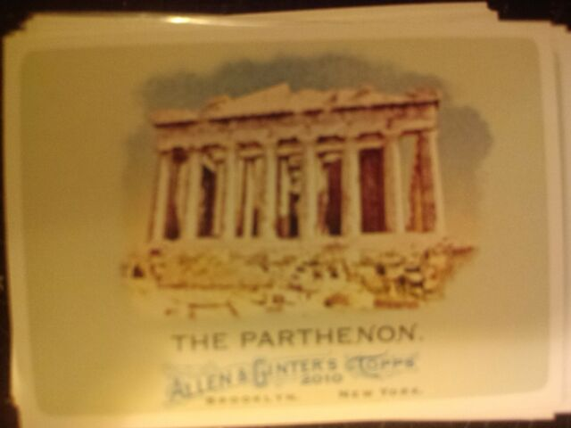 2010 Topps Allen & Ginter's #152 The Parthenon
