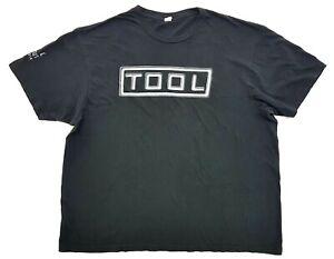 Tool Tour 2012 Los Angels Tee Black Size XL Mens T-Shirt Rock