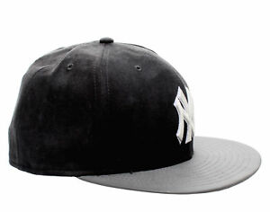 a13142564ac New Era 59Fifty New York Yankees BF Suede Top Men s Fitted Hat 5950 ...