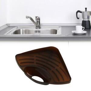 Kitchen Sink Corner Caddy Storage Rack Sponge Organizer Holder Dishes Drip Rack Ebay