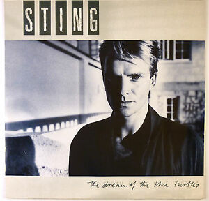 """12"""" LP - Sting - The Dream Of The Blue Turtles - B3134 - washed & cleaned"""