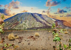 A1-Teide-Volcano-Poster-Art-Print-60-x-90cm-180gsm-Islands-Spain-Fun-Gift-16503