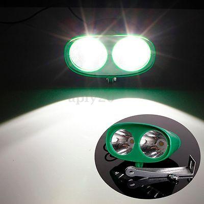 Motorcycle Bike ATV Quad Bright Front LED Driving Spot Fog Headlight Lamp 12/24V