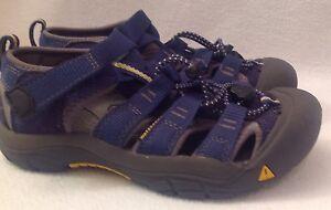 116165cc5355 KEEN Newport H2 Youth Blue Sandals Shoes Sz 2 Waterproof Hiking ...