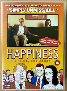 Happiness DVD 1998 Dark Indie Drama Classic starring Philip Seymour Hoffman