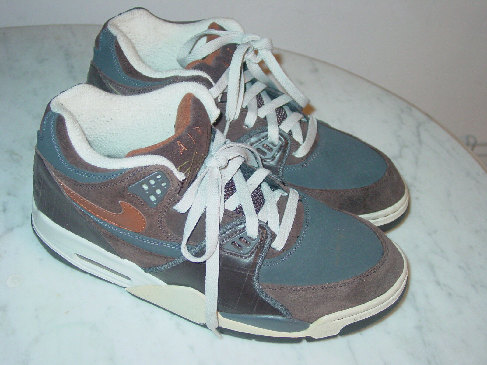 superior quality fafb3 ce8d6 2007 Nike Air Flight 89 Dark Cinder Cognac Cognac Cognac Midnight Fog  Basketball shoes Size 10