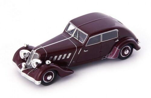 Allemagne 1932 1//43 Rohr 8 Typ F Stromlinie rouge foncé Autocult 43 ATC04023