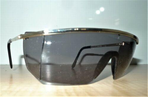 Pyramex Integra CG410SM safety glasses Smoke lens Gold Metal frames Vint N.O.S