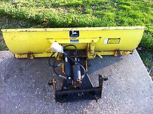 John Deere Gator Plow >> JOHN DEERE 54 BLADE SNOW PLOW 420 430 | eBay