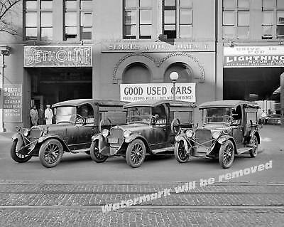 Photograph of the Dodge Brothers 1927  Car Lot  11x14