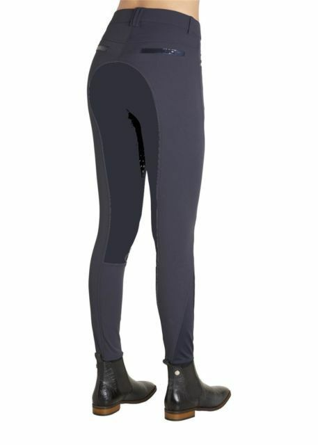 Montar Breeches  Ann Yati with Sequin Detail Full seat Skin in Navy Sz 44 NWT    cheaper prices