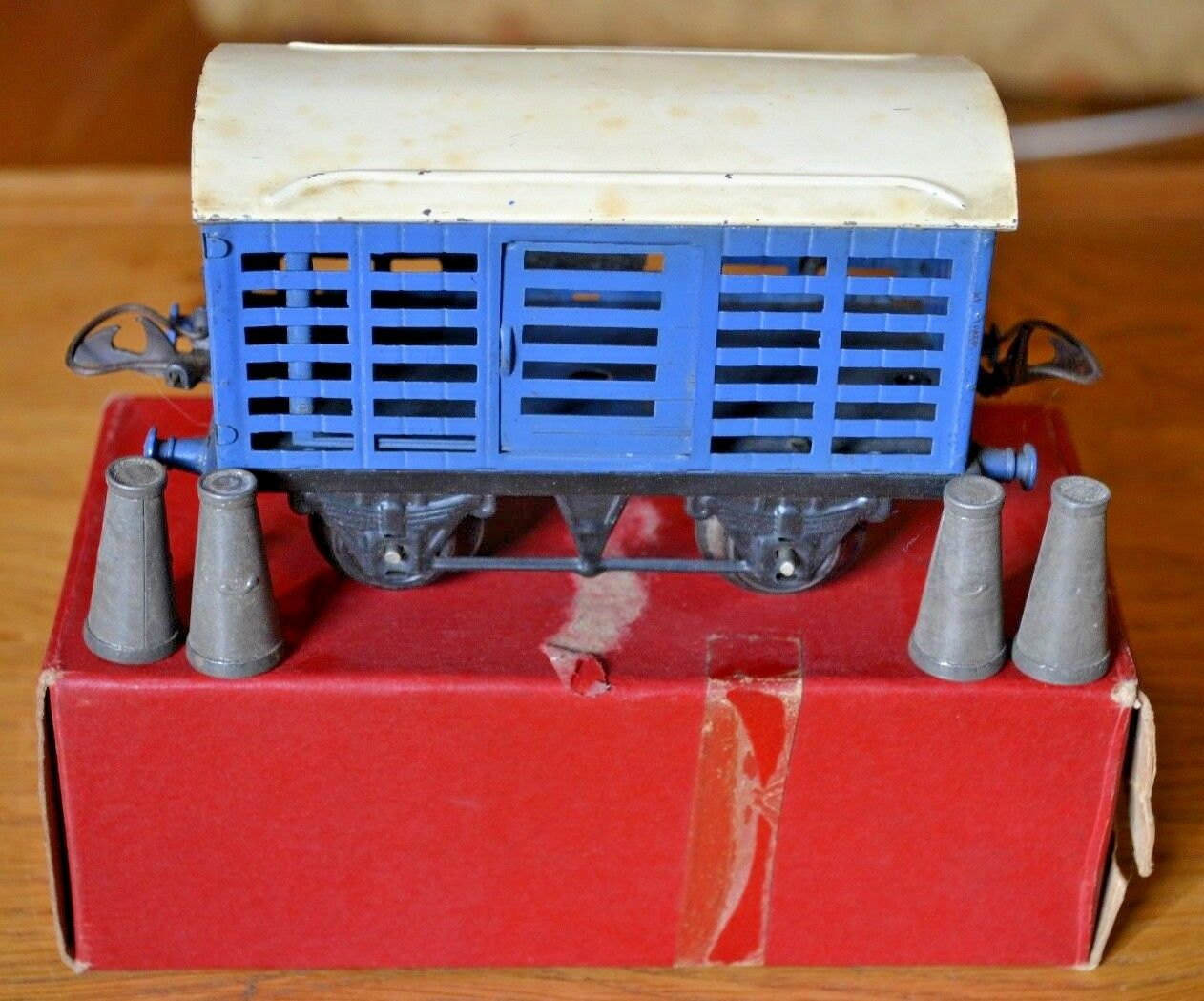 Hornby Series O Gauge; No 1. Milk Traffic Van; Original Box;