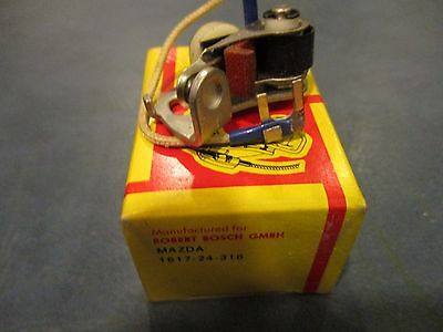 RX2 NOS 1969-70 Mazda R100 RX3 Condenser and Ignition Points