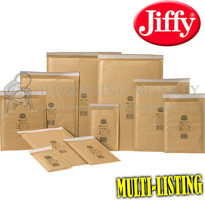 J//0 SIZE 140 x 195mm GOLD JIFFY AIRKRAFT PADDED ENVELOPES CHEAP *MULTI LISTING*