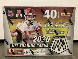 2020-Panini-Mosaic-NFL-Football-Sealed-MEGA-BOX-IN-HAND-FREE-SHIPPING