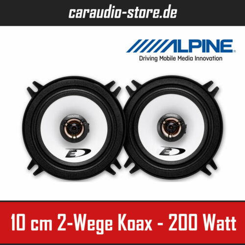 Paarpreis 2-Wege-Koax System 200W Peak Power Alpine SXE-1325S