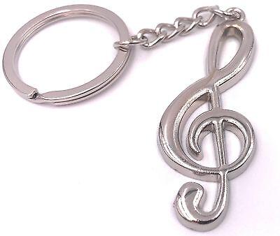 Chiave Di Violino Note Violinenschlüssel Portachiavi Ciondolo Per Vincere Una Grande Ammirazione