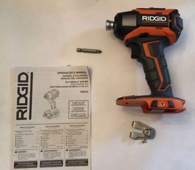 RIDGID 9.6-18v VOLT X4 LI-ION IMPACT DRIVER GUN 18v BATTERY DUAL CHEM CHARGER