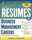 Resumes for Business Management Careers by McGraw-Hill Education (Paperback, 2006)