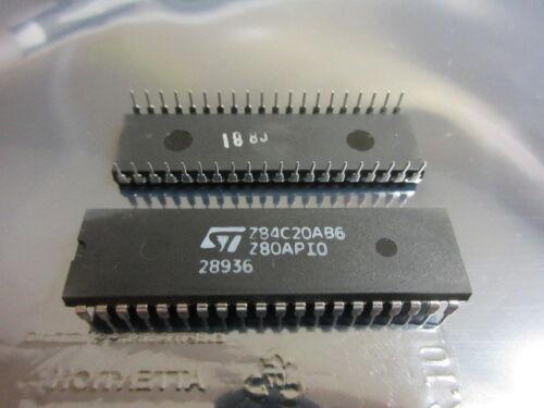 Z80APIO Z84C20AB6 STM SGS  Parallel Input Output Controller Z842 1 Chip