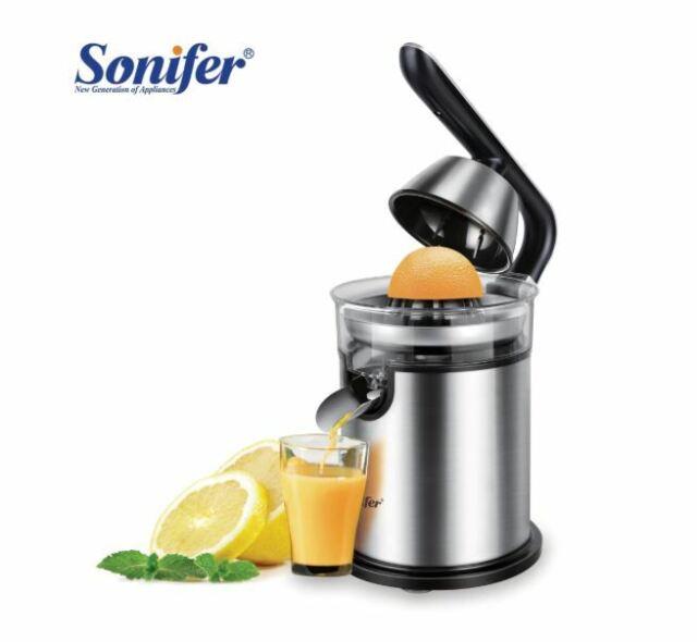 Electric Citrus Juicer Stainless Steel Orange Lemon Or Lime Squeezer Juice Maker
