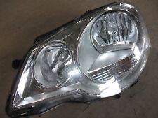 VW POLO 9N 06-09 3DR FACE LIFT PASSENGER SIDE HEAD LIGHT