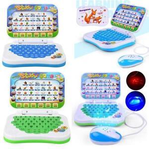 Ordenador Portátil Tablet Juguete Para Niños Bebés Educativos Temprano Aprendizaje Máquina De Regalo Ebay