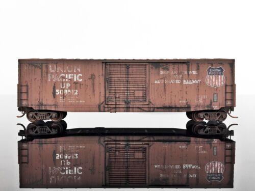 Single Door MTL Micro-Trains 18051031 50/' Standard Box Car WEATHERED #508512