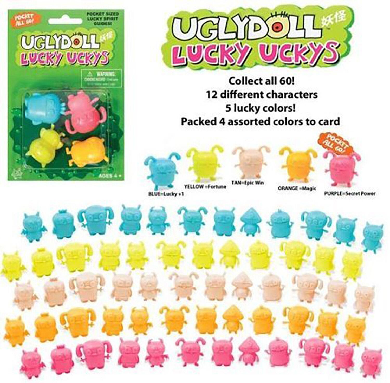 Uglydoll Lucky Ucky completo conjunto de los 60