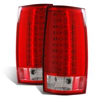 Cg Chevy Tahoe / Suburban 07-14 Led G4 Tail Light Red/clear (escalade Look)