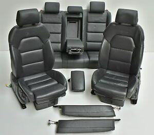 Audi-A6-4F-Facelift-Lederausstattung-Leder-schwarz-Bose-S-LINE