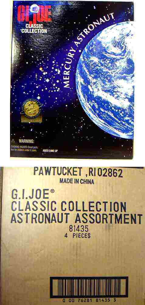 GI Joe 12 Inch Mercury Astronaut 1997 New Hasbro Toys Factory Sealed