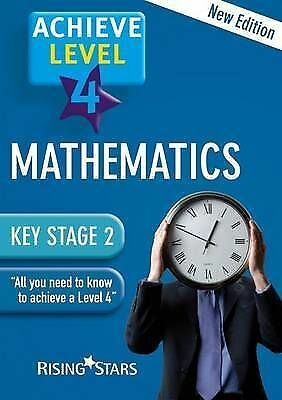 """""""AS NEW"""" various, Achieve: Maths Revision- Level 4 Book"""