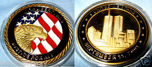 9-11-Gold-Coin-New-York-City-United-we-Stand-Man-LIBERTY-amp-JUSTICE-USA-911-Hope