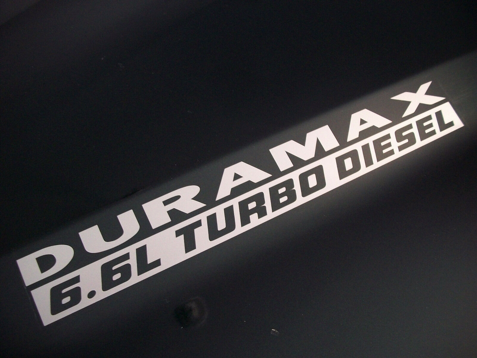 2 66l Duramax Turbo Diesel Hood Decals Stickers Chevy Silverado
