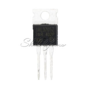 10PCS 3705 IRL3705 MOSFET N-CH 55V 75A TO-220AB