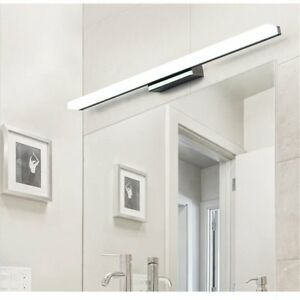 Details About 9w Led Bathroom Mirror Light Wall Mounted Stainless Steel Acrylic Vanity