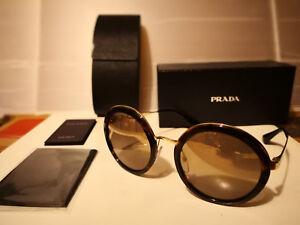 1dac88936e8b Image is loading NEW-PRADA-PR50TS-2AU6O0-Sunglasses-Havana-Brown-Brown-