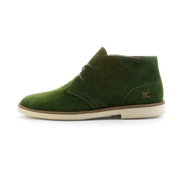 Dude Zapatos TORINO Verde de Ante Bota de Verde desierto 3ce771