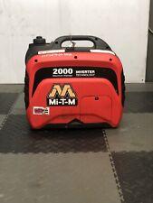 Used Mi T M Gen 2000 Imm0 Portable Generator Inverter 2000w 12v Camper Power