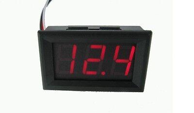 4.5V to 30V Digital LED Auto Car Truck Voltmeter Gauge Voltage Volt Panel Meter