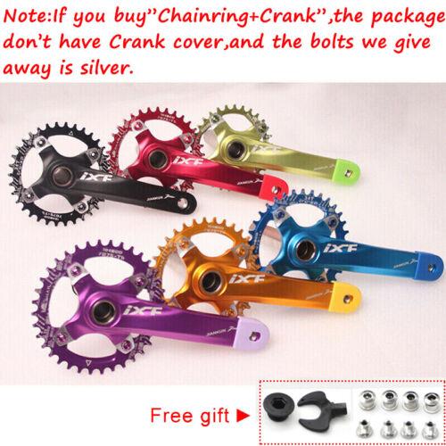 30-42t 104BCD 170mm Crankset MTB Bike Crank Narrow Wide Chainring Chainwheel CNC
