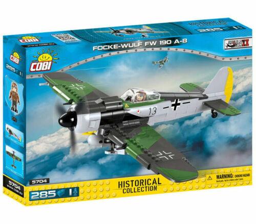 guerre mondiale COBI 5704 Focke-Wulf 190a-8 Chasseur Allemand 2