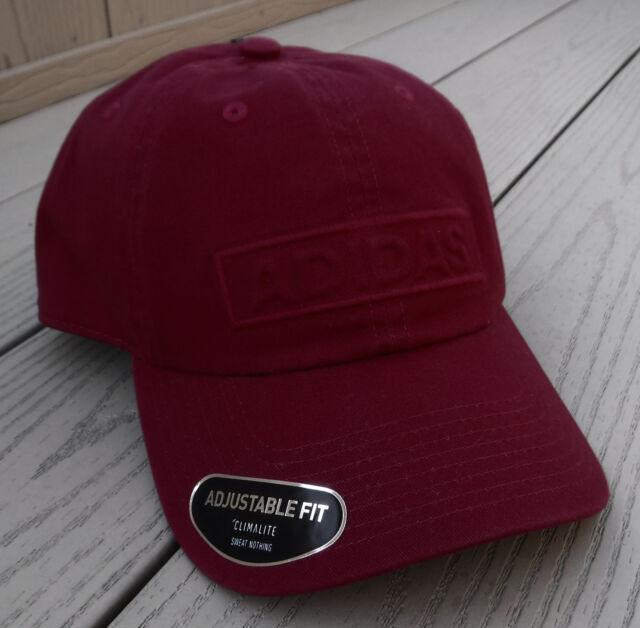 3faec0c1441 adidas Mens Ultimate Plus Cap Men s Dark Red OSFA for sale online